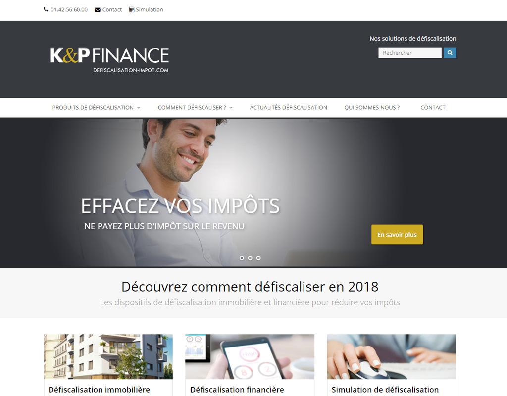 K&P Défiscalisation, défiscalisation immobilière et financière
