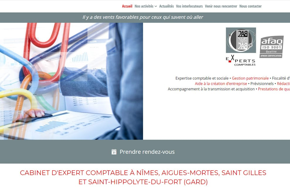 2AB, cabinet d'expert comptable