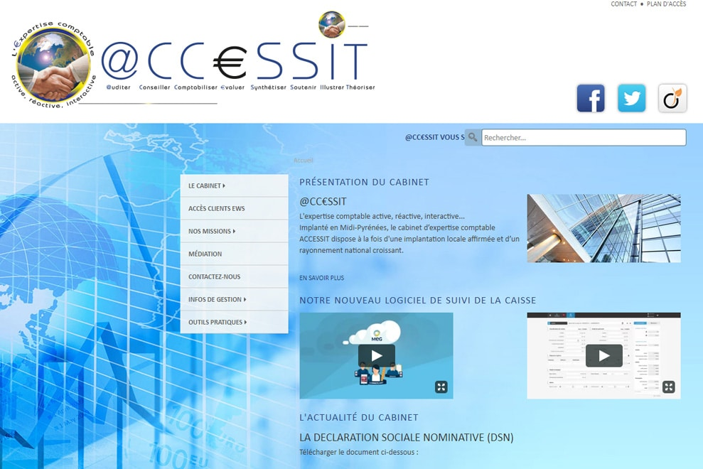 Accessit, expertise comptable
