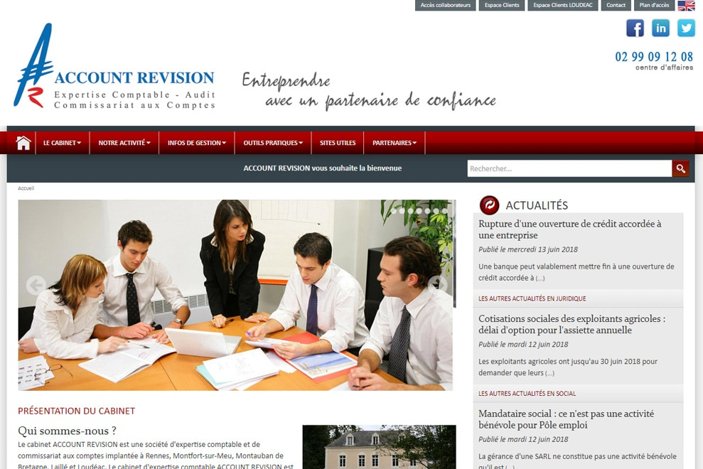 Account Revision, expertise comptable
