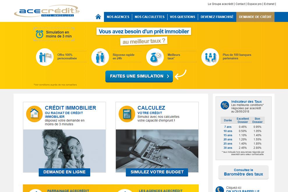 ACE Crédits, courtier en crédit immobilier