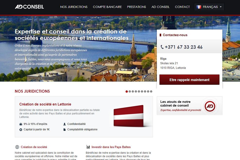 AD Conseil, sociétés Offshore