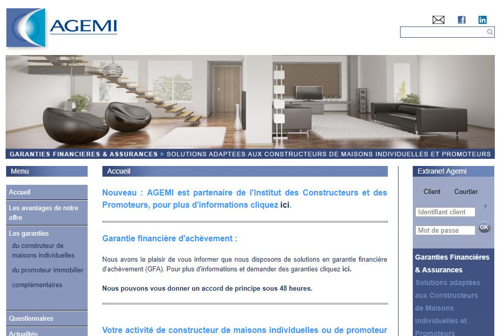 AGEMI, garanties financières et assurances