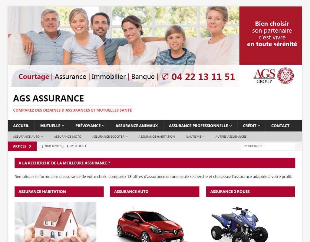 AGS assurance, comparateur d'assurance