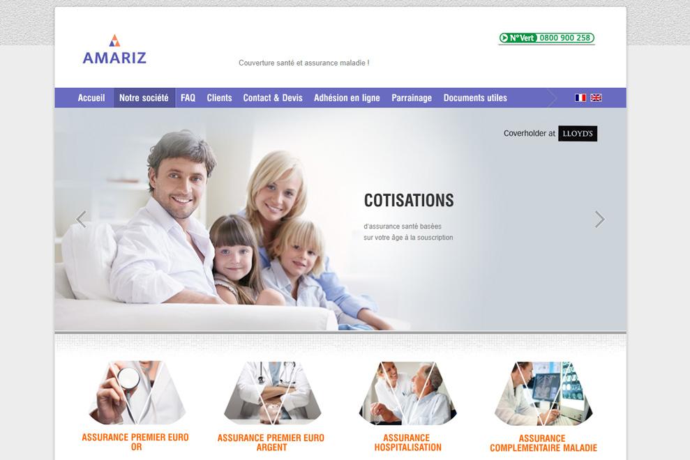 Amariz Limited, assurance maladie pour la France