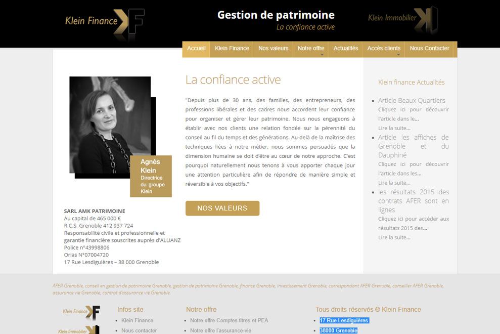 AMK Patrimoine, gestion de patrimoine