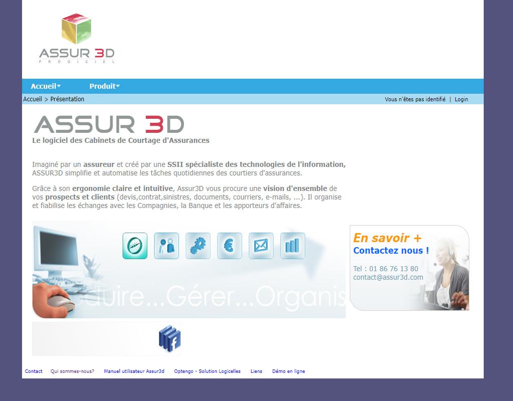 Assur3d, logiciel de gestion assurance