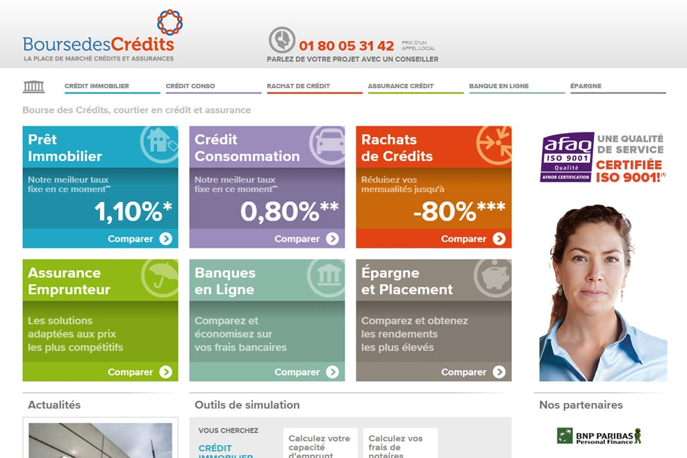 Bourse des Crédits, courtier en crédit et assurance