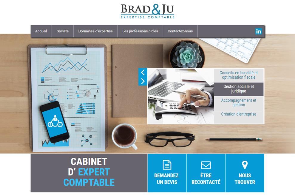 Brad & Ju, expertise comptable