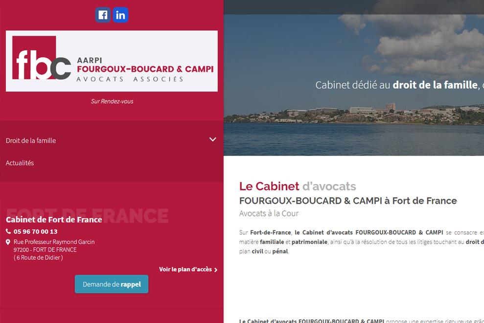 Cabinet AARPI Fourgoux-Boucard & Campi, avocats