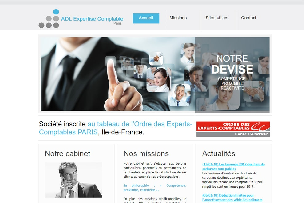 Cabinet ADL, expertise comptable