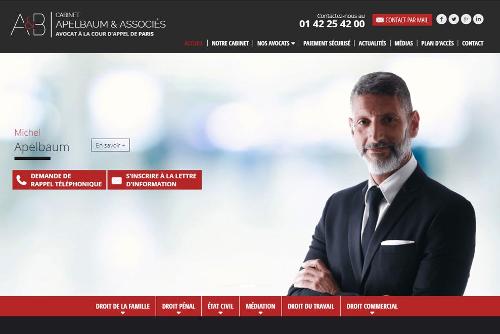 Cabinet Apelbaum & Associés, avocats