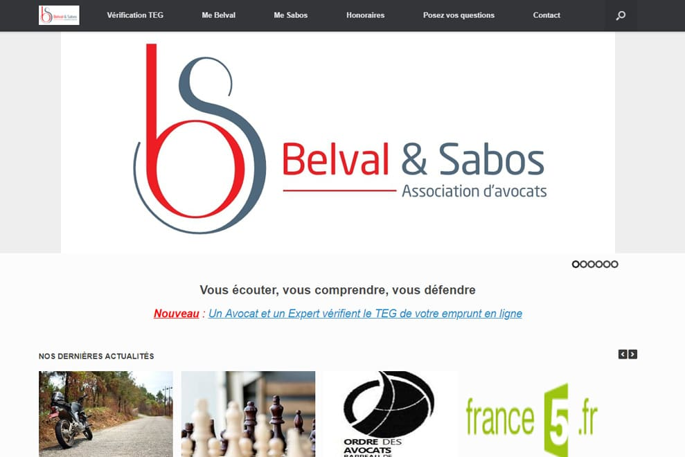 Cabinet Belval et Sabos, avocats