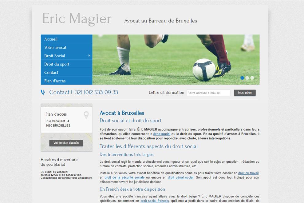 Cabinet Eric Magier, avocats droit social