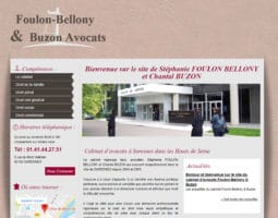 Cabinet Foulon-Bellony & Buzon, avocats