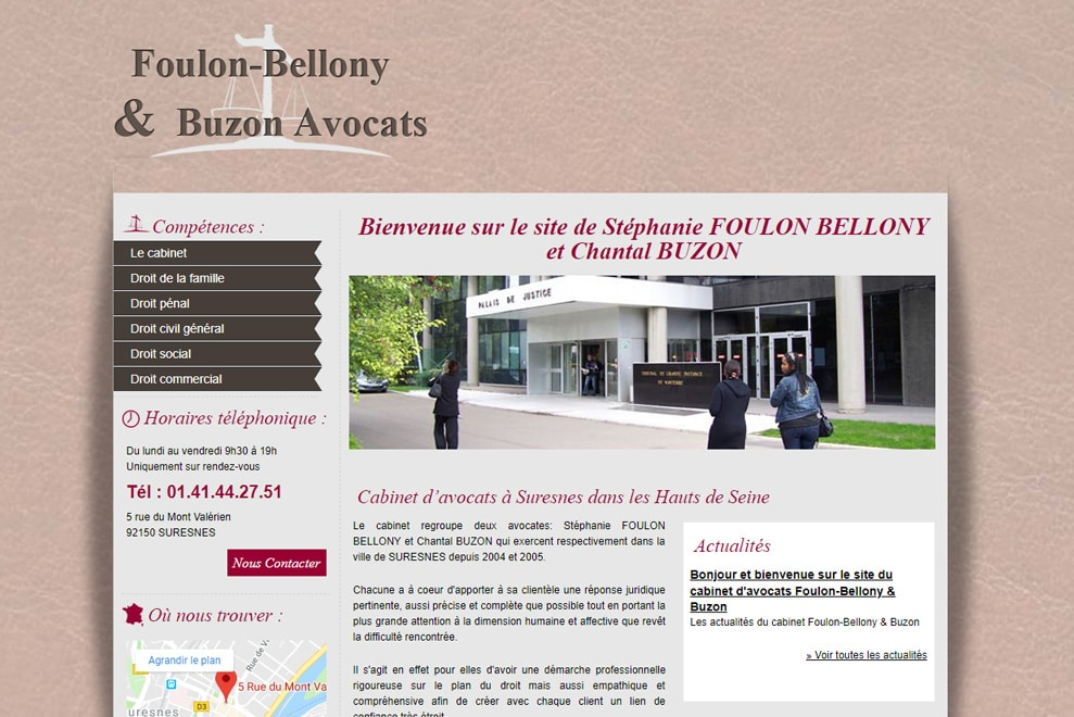 Cabinet Foulon-Bellony & Buzon, avocats