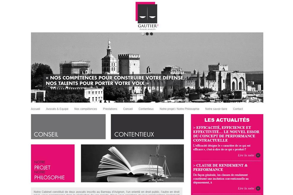 Cabinet Gautier², avocats droit public et privé