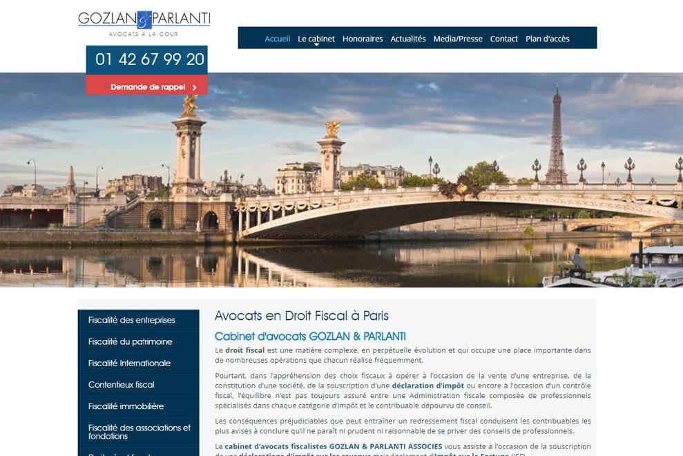 Cabinet Gozlan & Parlanti,avocats droit fiscal