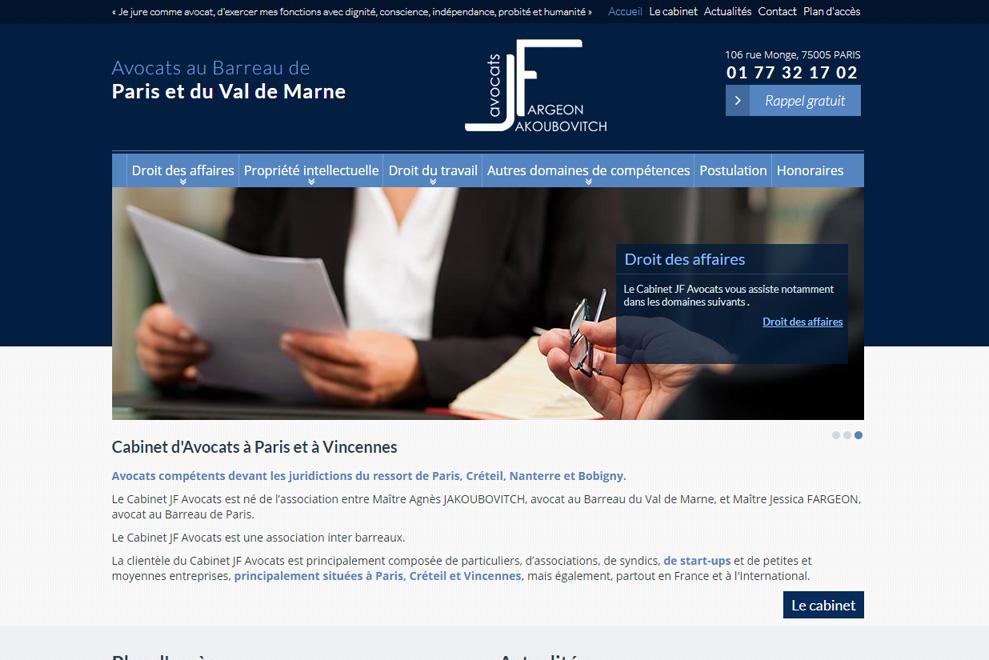 Cabinet JF Avocats, avocats en droit des contrats