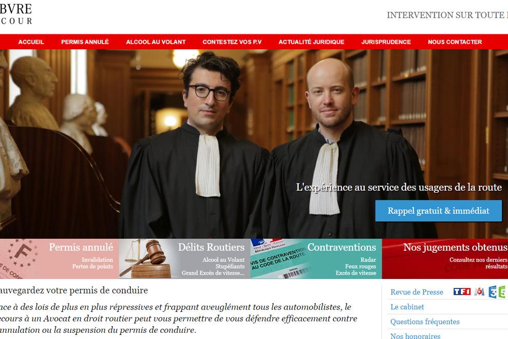 Cabinet Kirmen et Lefebvre,avocats du droit routier