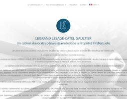 Cabinet Legrand Lesage-Catel Gaultier, avocats droit de la Propriété Intellectuelle