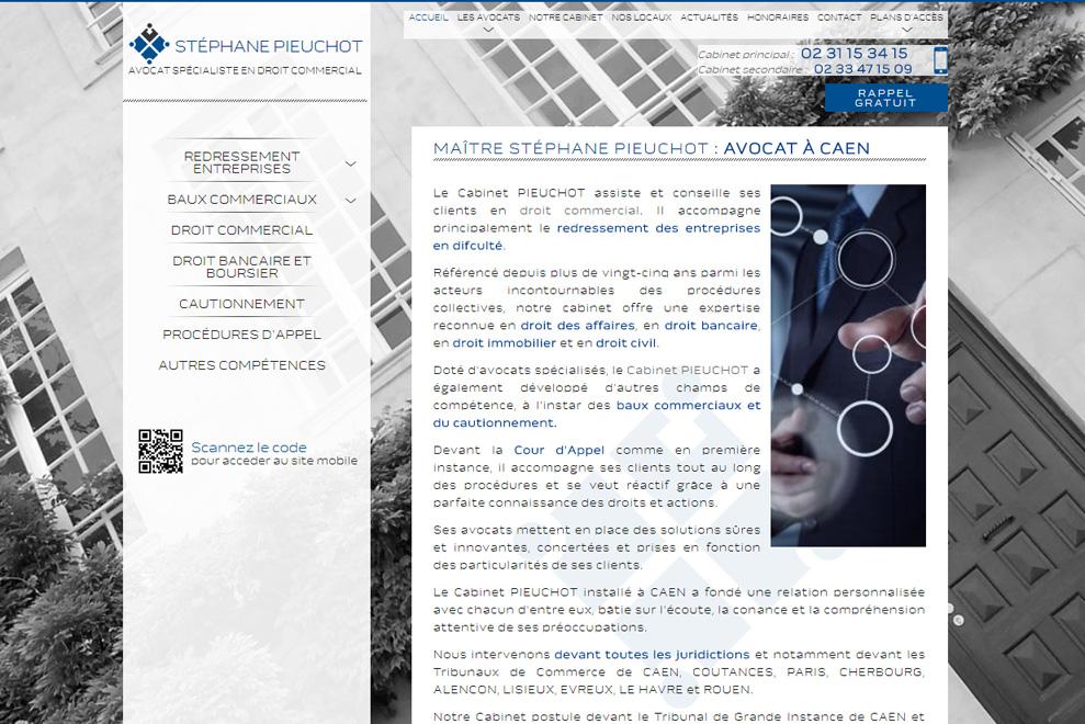 Cabinet Pieuchot, avocat droit commercial