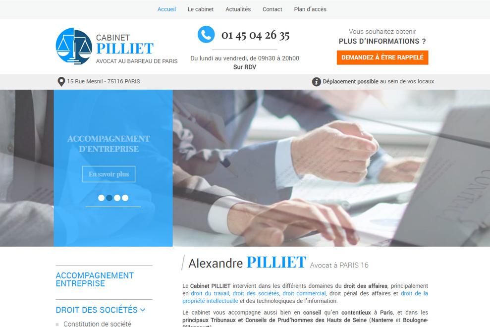 Cabinet Pilliet, avocat droit du travail