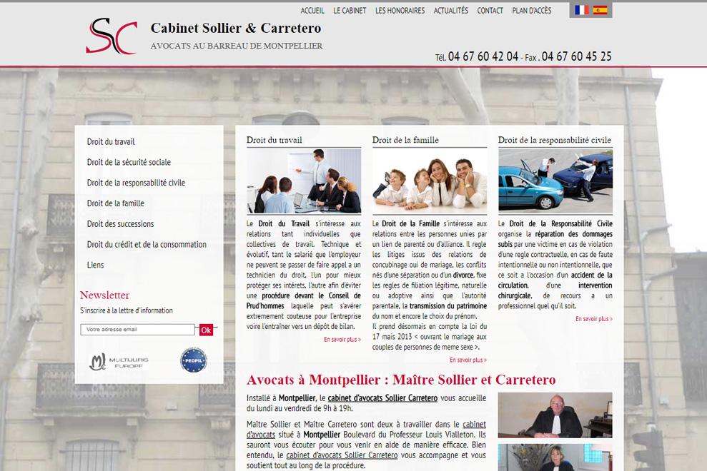 Cabinet Sollier & Carretero, avocat droit du travail