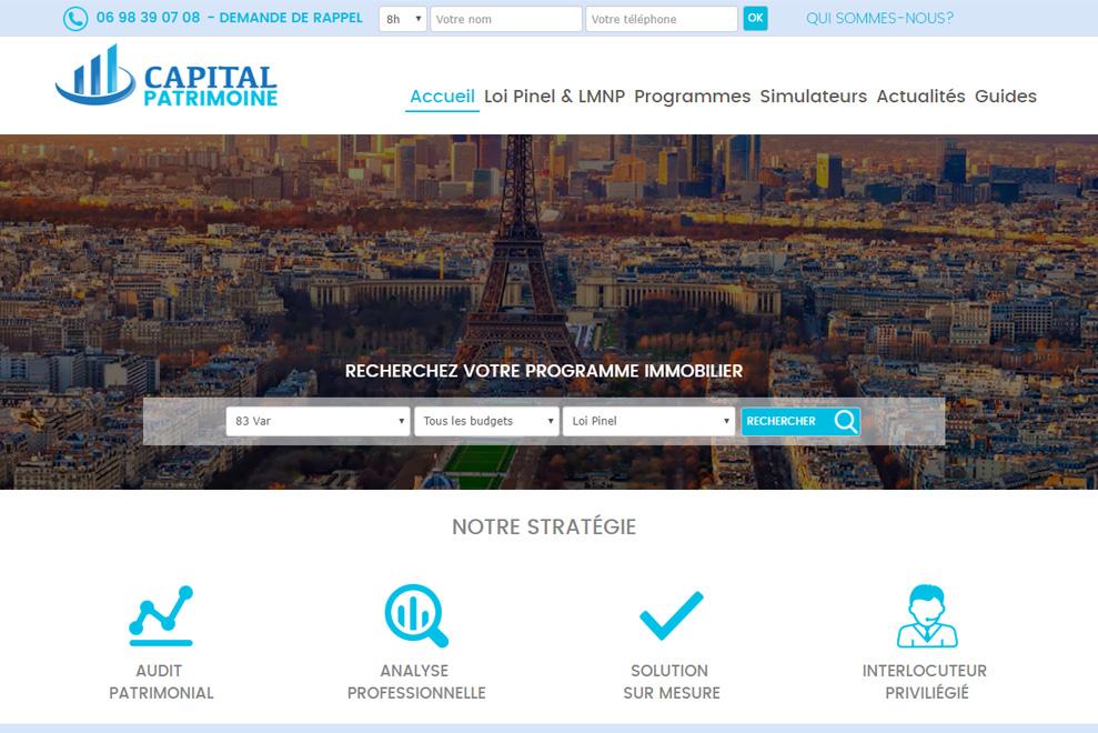 Capital Patrimoine, gestion de patrimoine