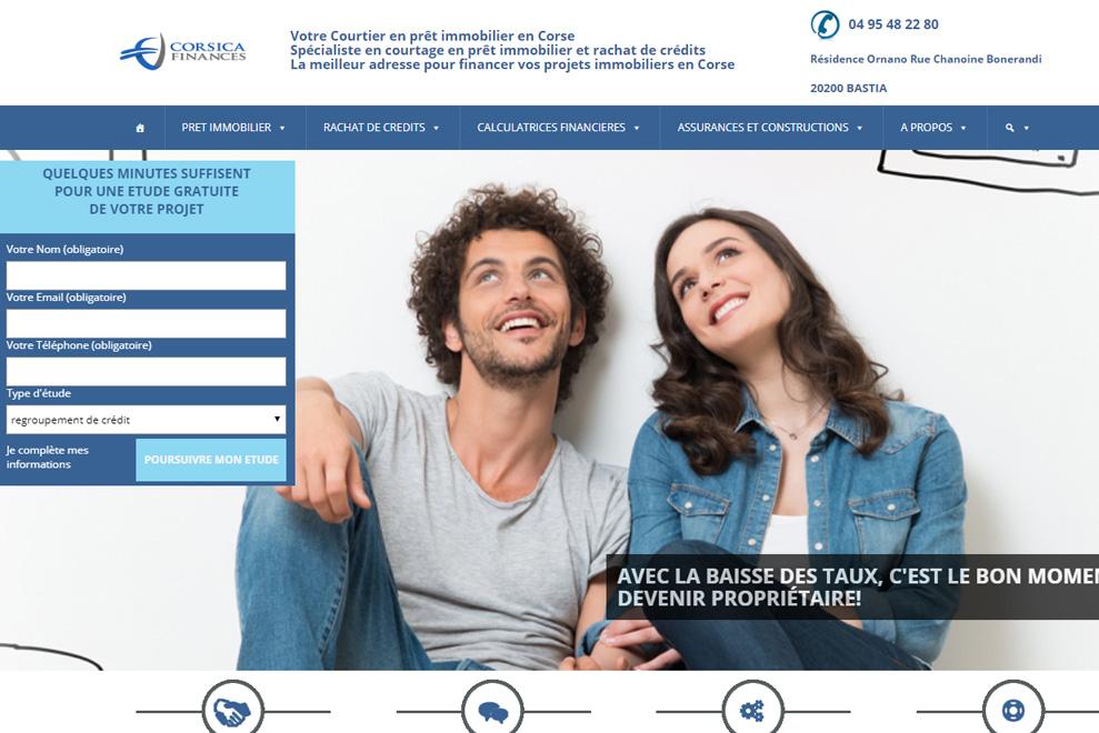 Corsica Finances, courtier en prêt immobilier