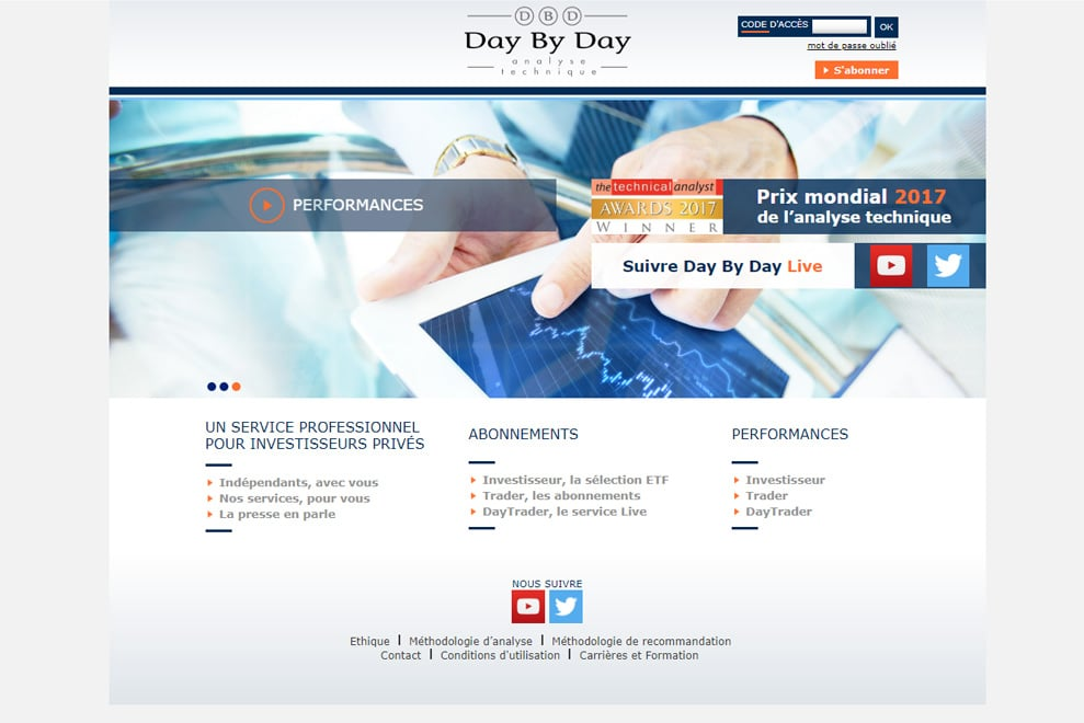 Day by Day, bureau d'analyse technique