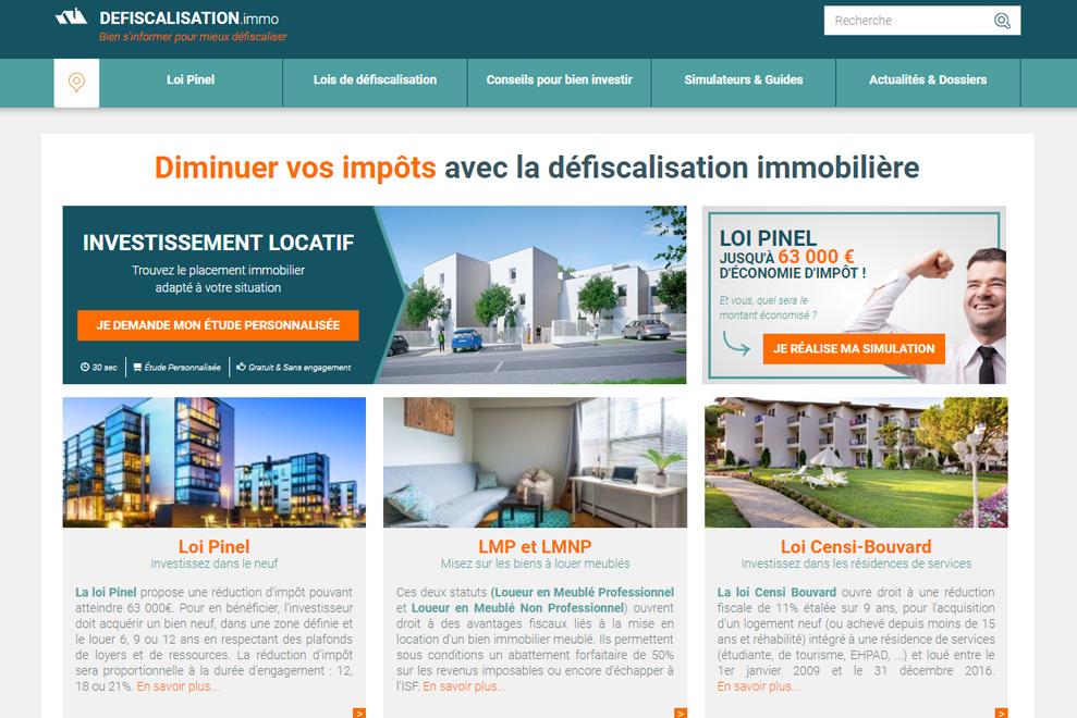 Defiscalisation-immo, défiscalisation immobilière