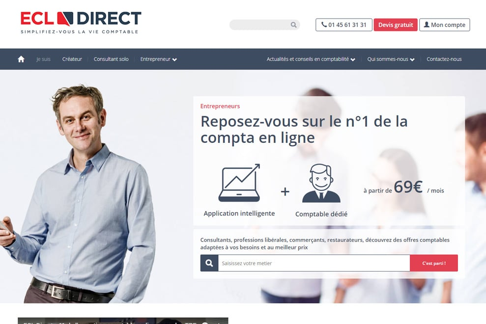 ECL Direct, expert comptable TPE