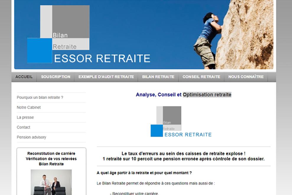 Essor Retraite, optimisation retraite