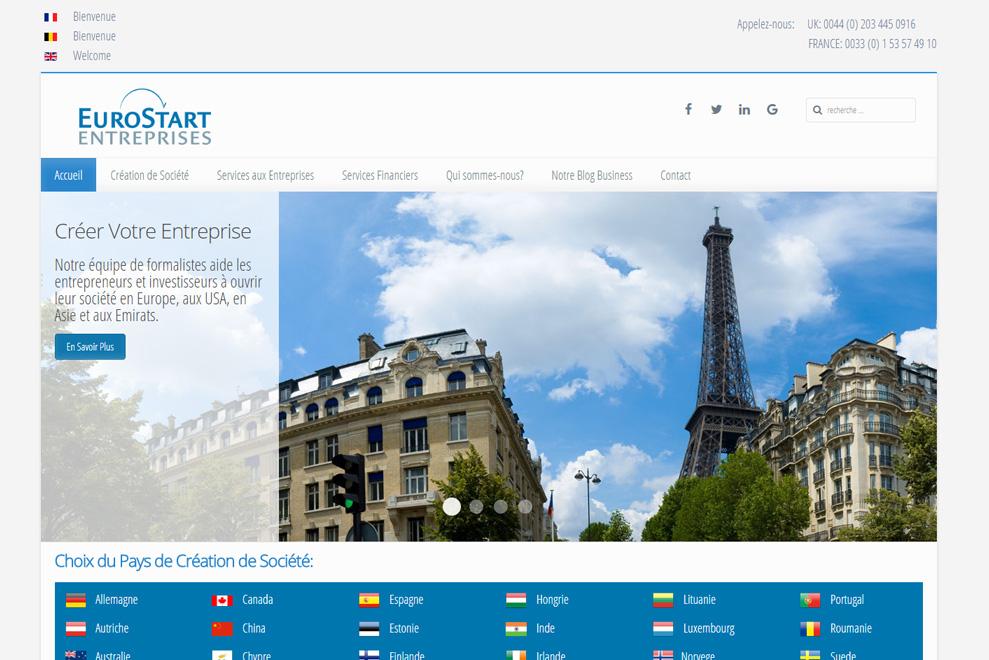 Euro Start Entreprises, societé offshore