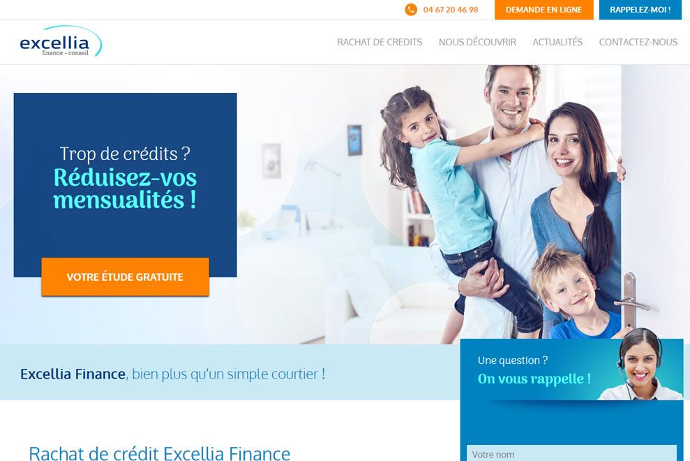 Excellia Finance, courtier en rachat de crédit