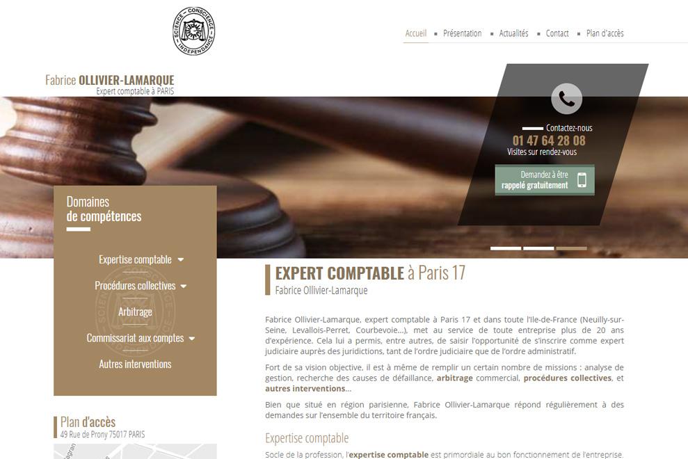 Fabrice Ollivier-Lamarque, expert-comptable