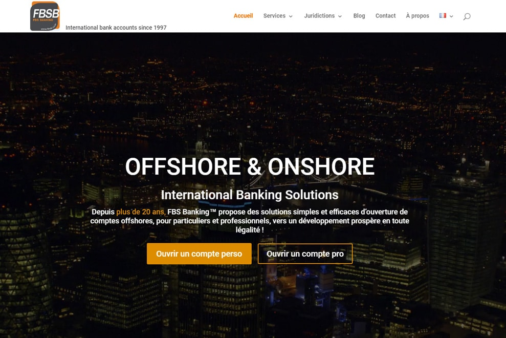 FBS Banking, compte bancaire offshore