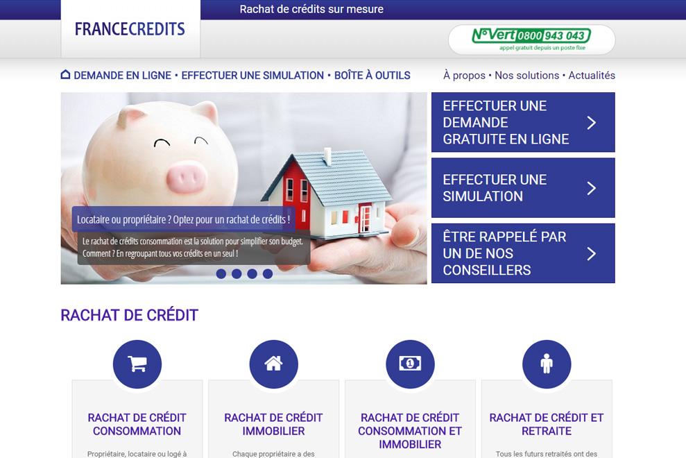 France Crédits, rachat de crédits
