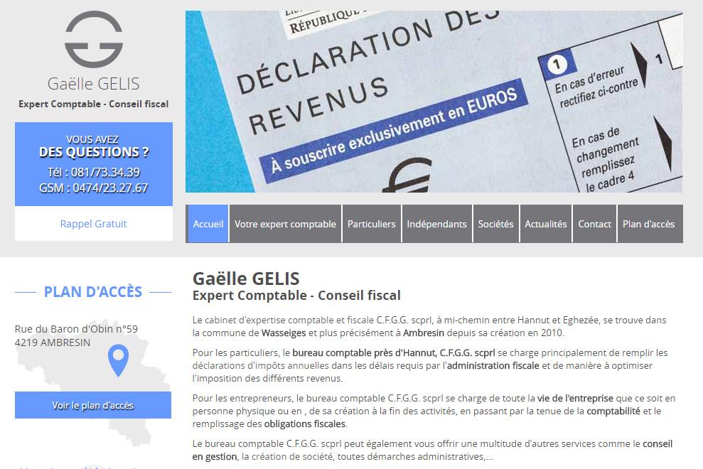 Gaëlle Gelis, expert comptable, conseil fiscal