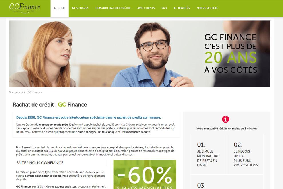 GC Finance, regroupement de crédits