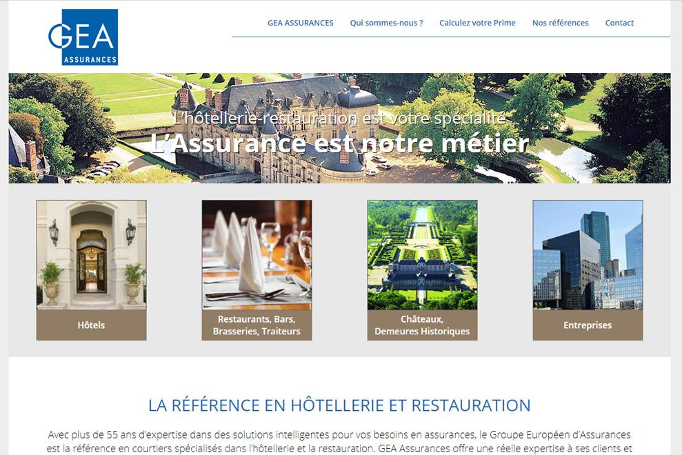 GEA Assurances, assurances hôtels et restaurants