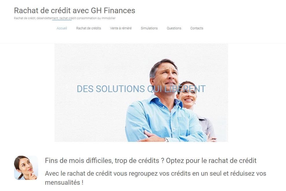 GH Finances, rachat de crédit