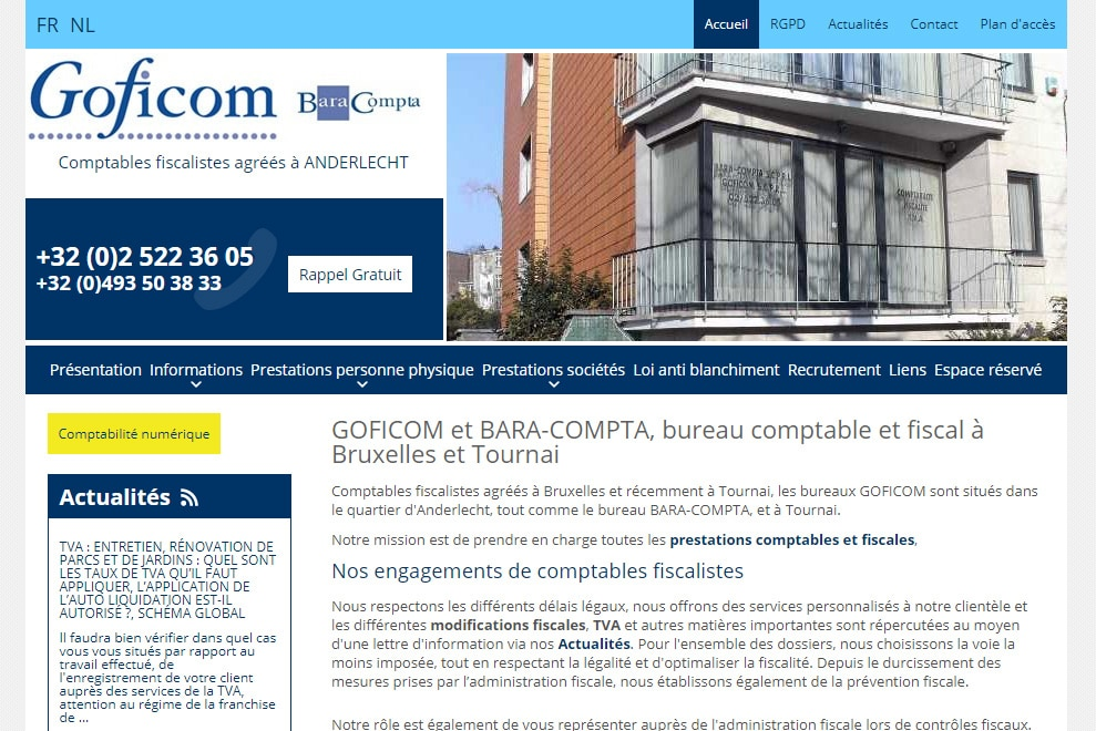Goficom Bara-Compta, comptables-fiscalistes