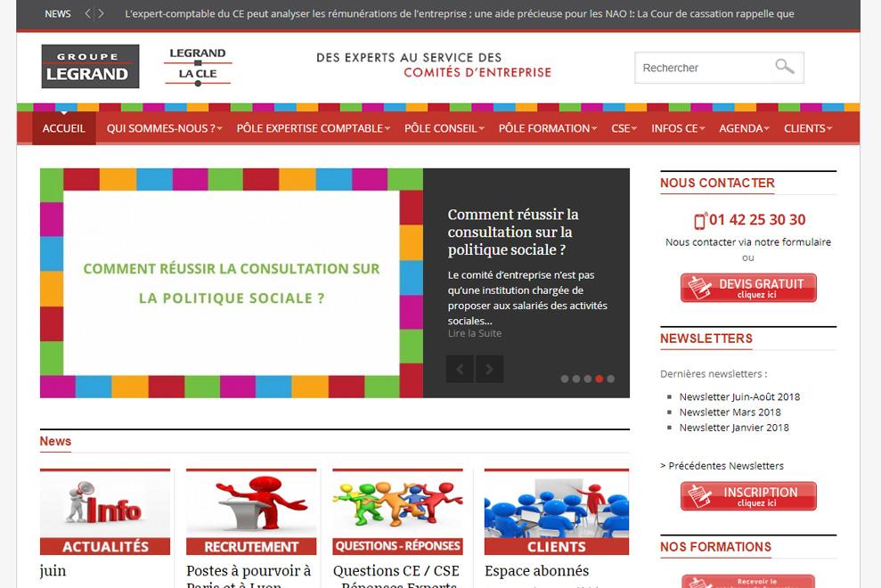 Groupe Legrand, expert comptable comité d'entreprise