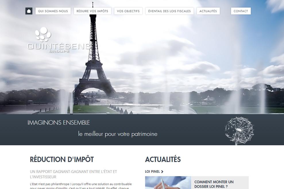Groupe Quintésens, gestion de patrimoine globale