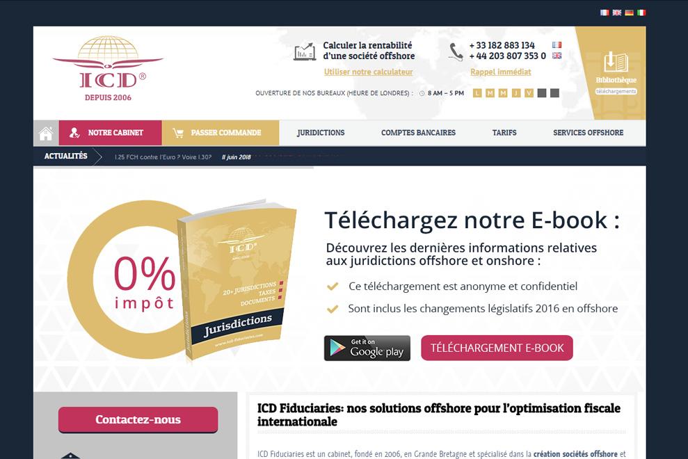 ICD Fiduciaries, société offshore