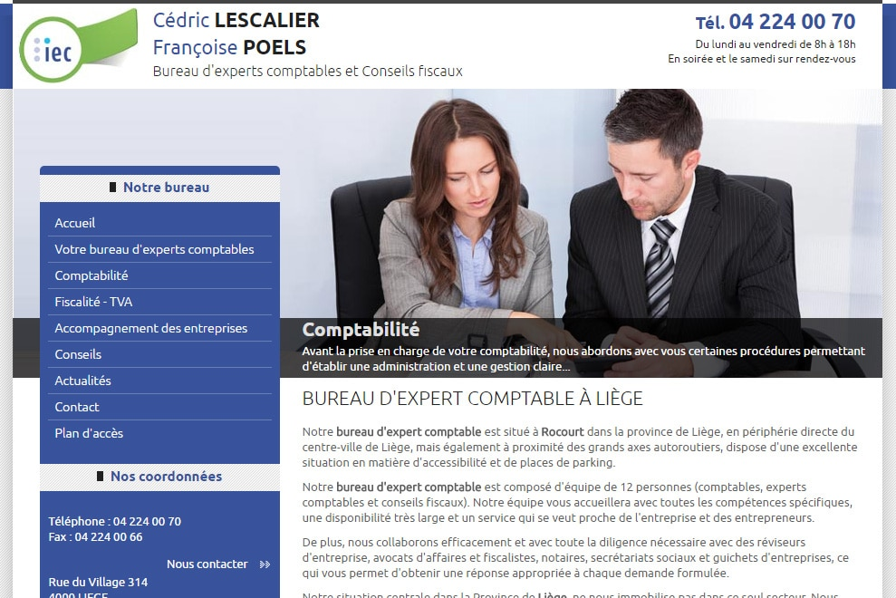 IEC, bureau d'expert comptable