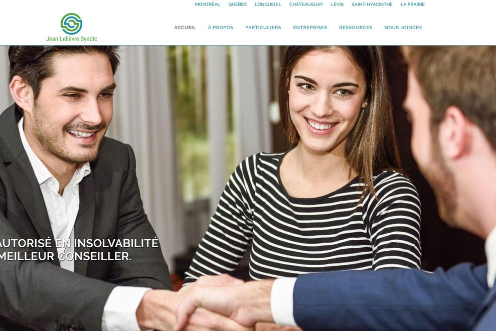 Jean Lelièvre Syndic, gestion de faillites personnelles