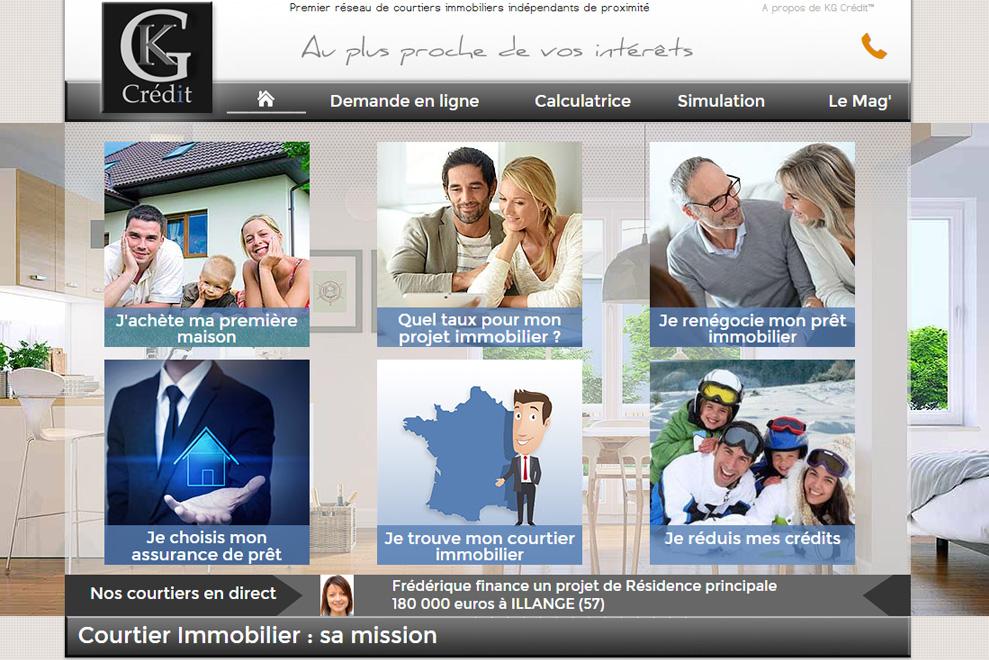 KG Crédit, courtiers en crédit immobilier
